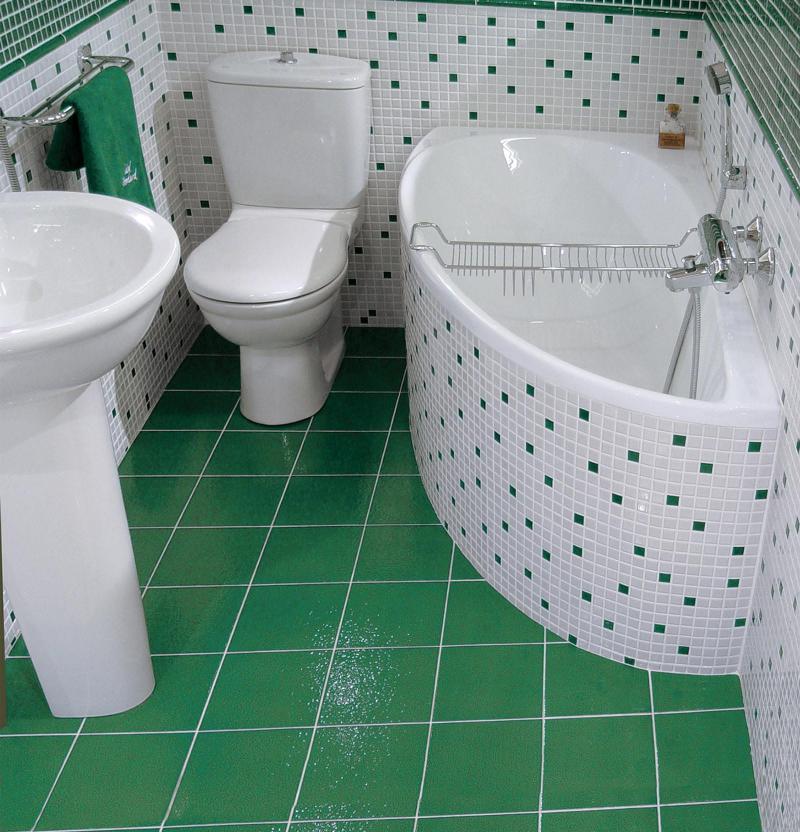 Фото интерьера ванной комнаты