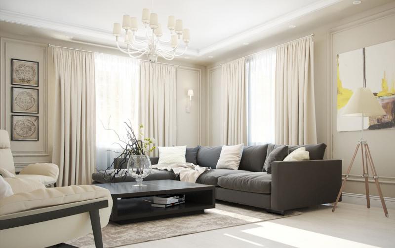 Дизайн гостиной 10