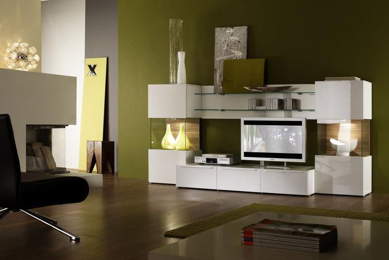 Дизайн интерьера в зеленом цвете - фото 1