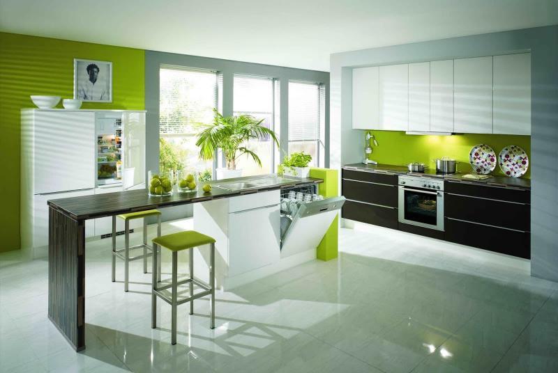 Дизайн интерьера в зеленом цвете - фото 4