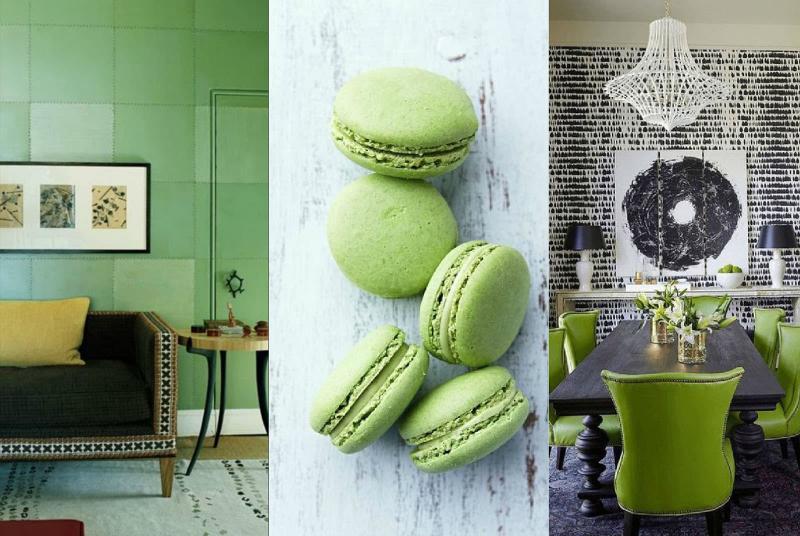 Дизайн интерьера в зеленом цвете - фото 7