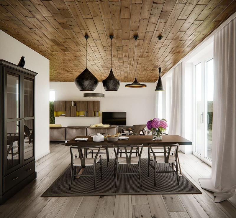 Дизайн потолка 3