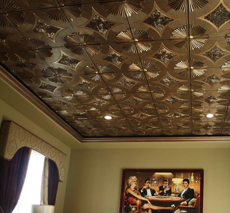 Дизайн потолка 6