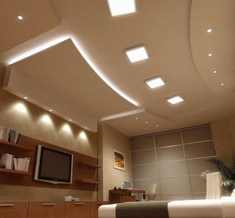 Дизайн потолка 7