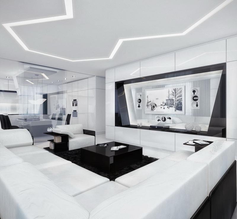 Дизайн потолка 8
