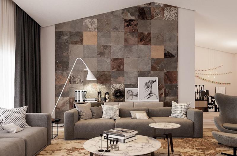 Дизайн стен в интерьере 2