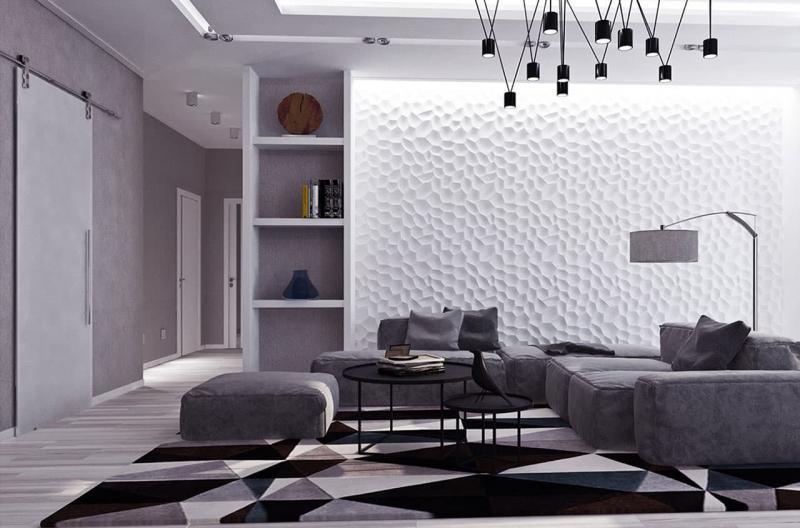 Дизайн стен в интерьере 4