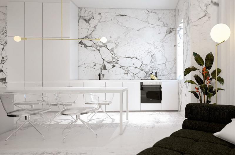 Дизайн стен в интерьере 5