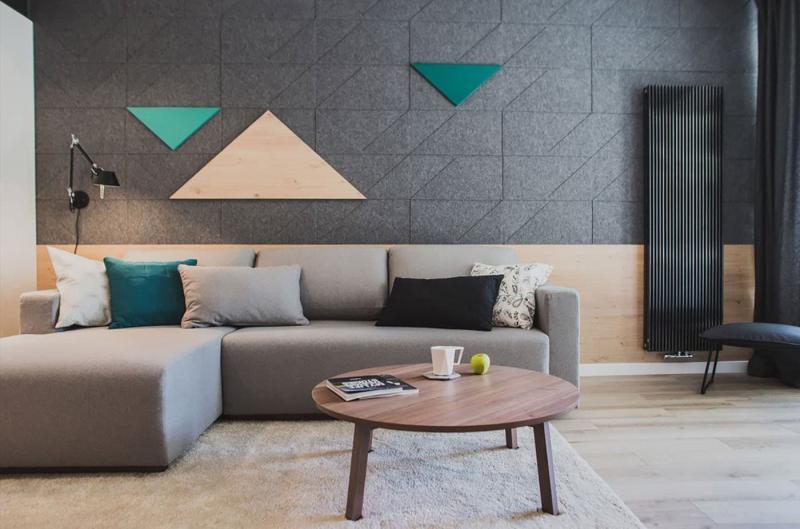 Дизайн стен в интерьере 6