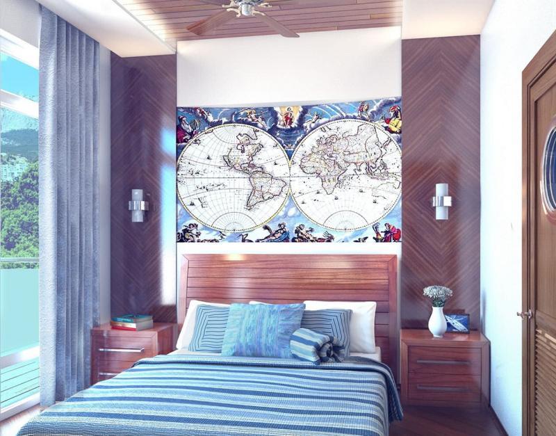 Интерьер в стиле средиземноморский минимализм 2