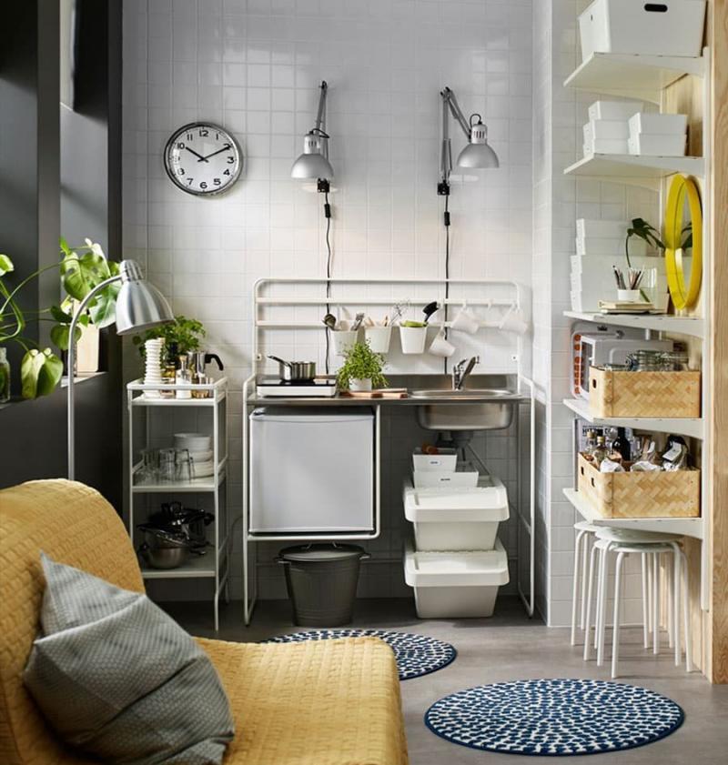 Мини-кухня в интерьере 4