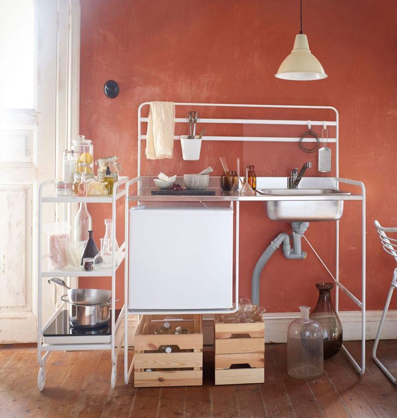 Мини-кухня в интерьере 5