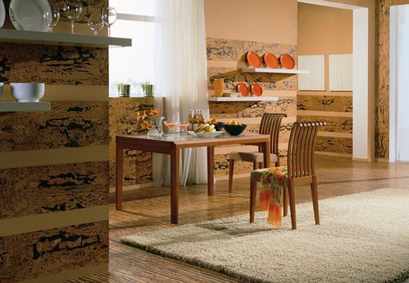 Декоративные панели в интерьере кухни 6