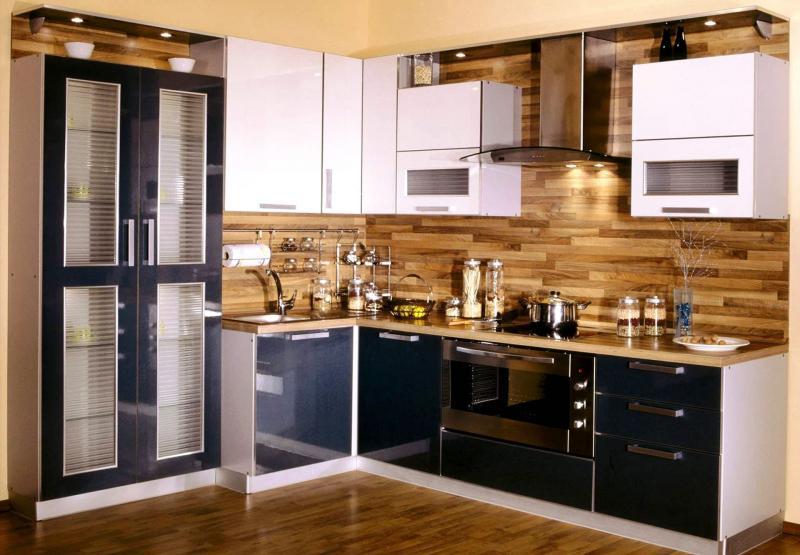 Декоративные панели в интерьере кухни 7