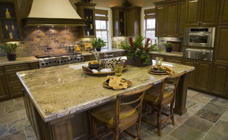 Фото кухни в оливковом цвете 1