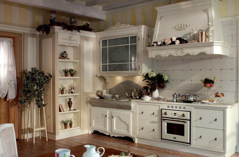 Кухня в прованском стиле 2