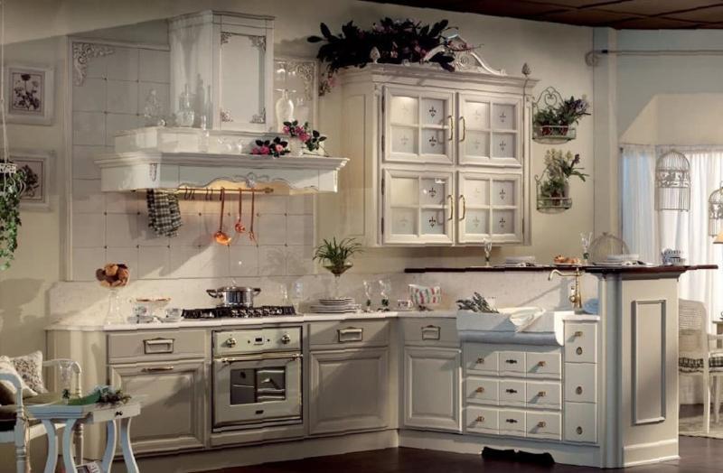 Кухня в прованском стиле 5