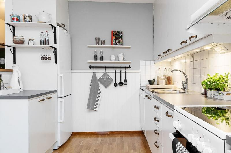 Обустройство кухни 8 кв.м 6