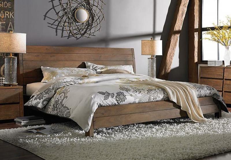 Дизайн спальни в стиле лофт - фото 2