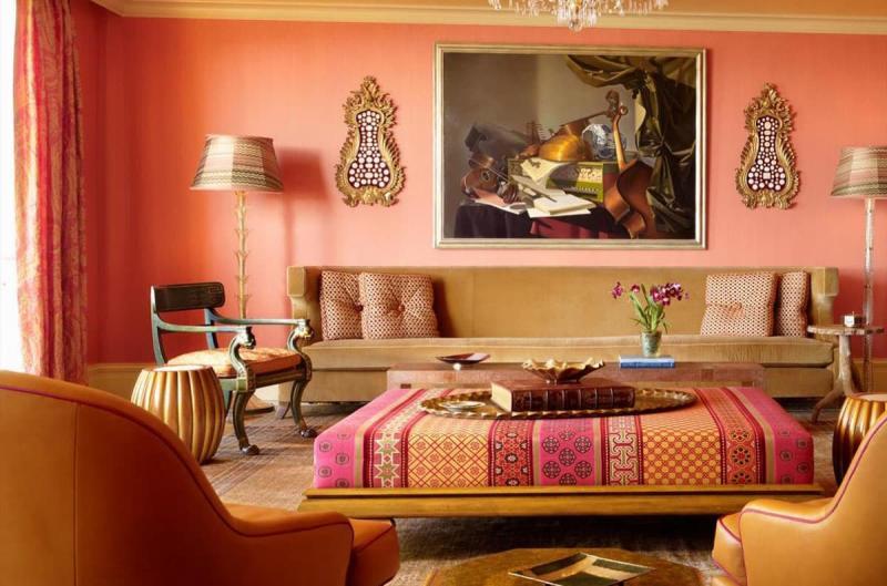 Дизайн спальни в восточном стиле - фото 2