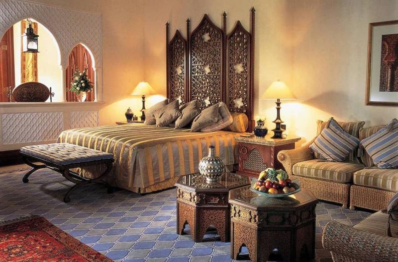 Дизайн спальни в восточном стиле - фото 4