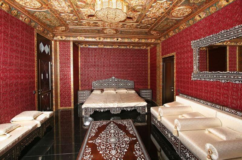 Дизайн спальни в восточном стиле - фото 5