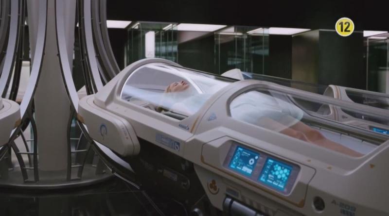 Пассажиры (спальня в стиле хай тек)