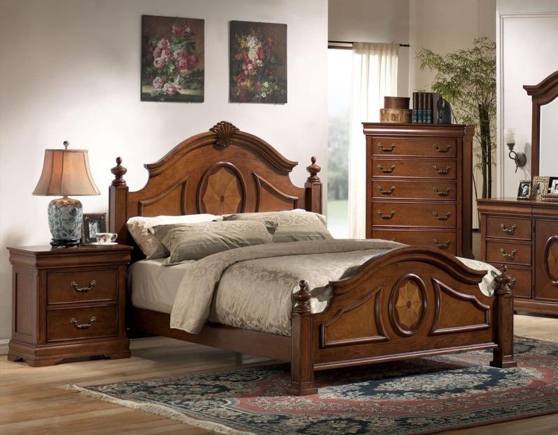 Спальня в классическом стиле 2