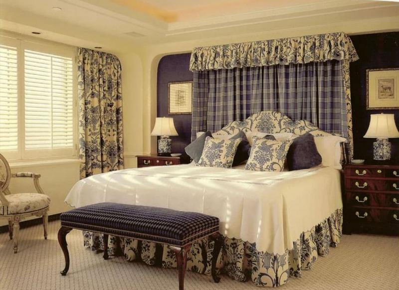 Спальня в прованском стиле 1