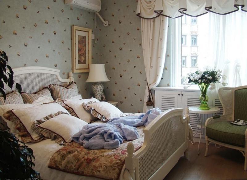 Спальня в прованском стиле 4