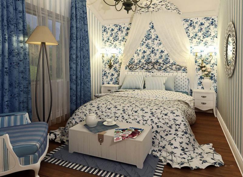 Спальня в прованском стиле 6