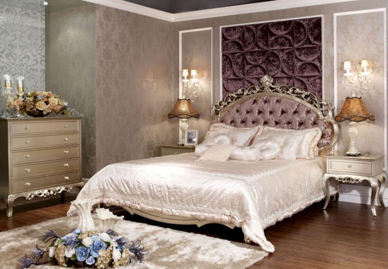 Спальня в стиле барокко 2