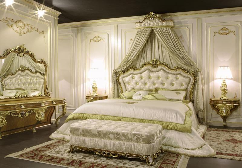 Спальня в стиле барокко 4