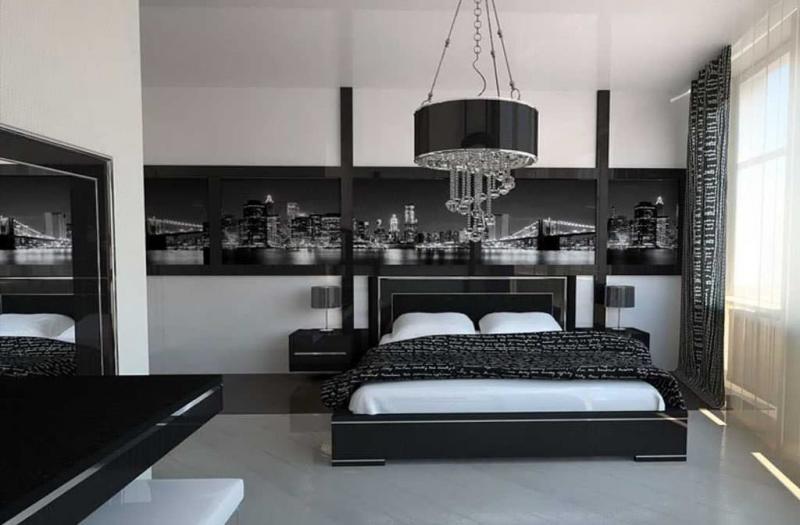 Спальня в стиле хай-тек 1