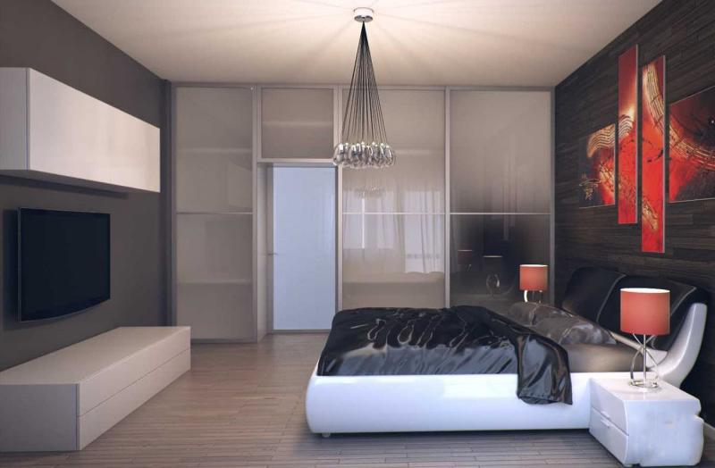 Спальня в стиле хай-тек 4