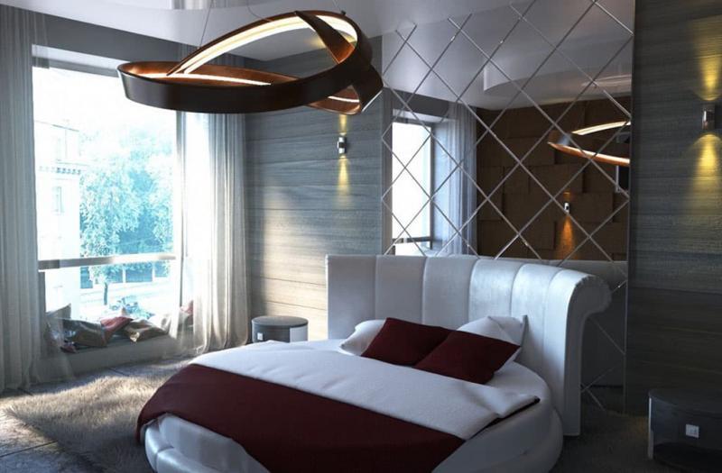 Спальня в стиле хай-тек 5