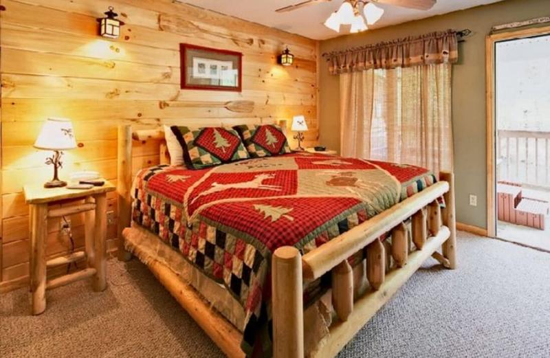 Спальня в стиле кантри 2