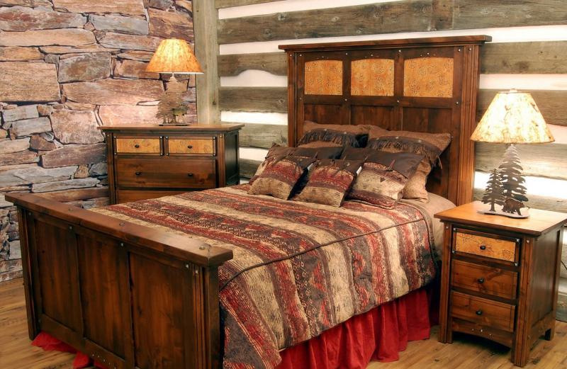 Спальня в стиле кантри 3