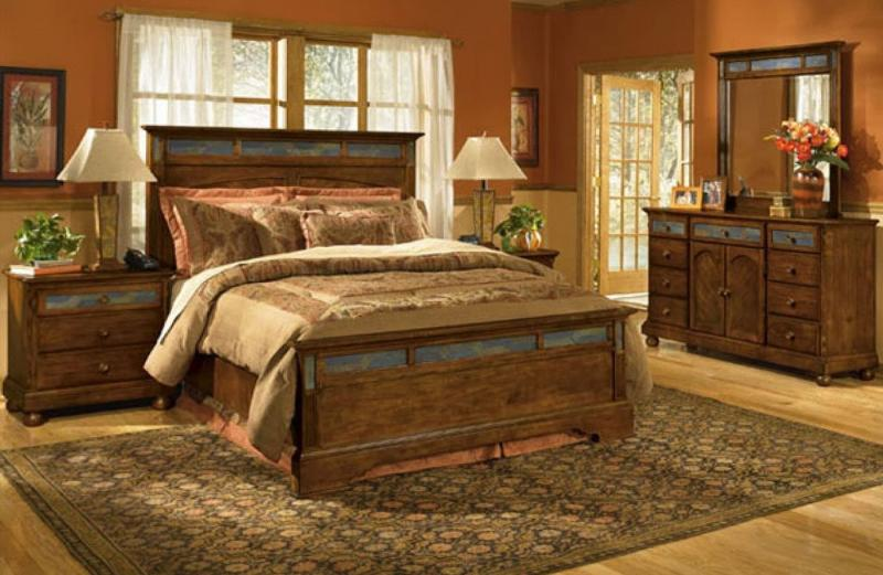 Спальня в стиле кантри 4