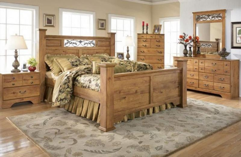 Спальня в стиле кантри 5