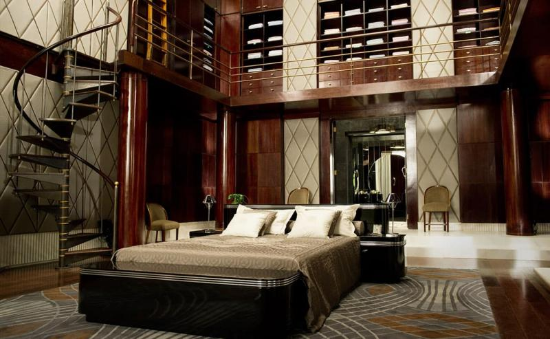 Великий Гэтсби (спальня в классическом стиле) 1