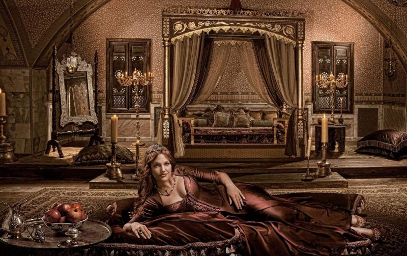 Великолепный век (спальня в восточном стиле) 1