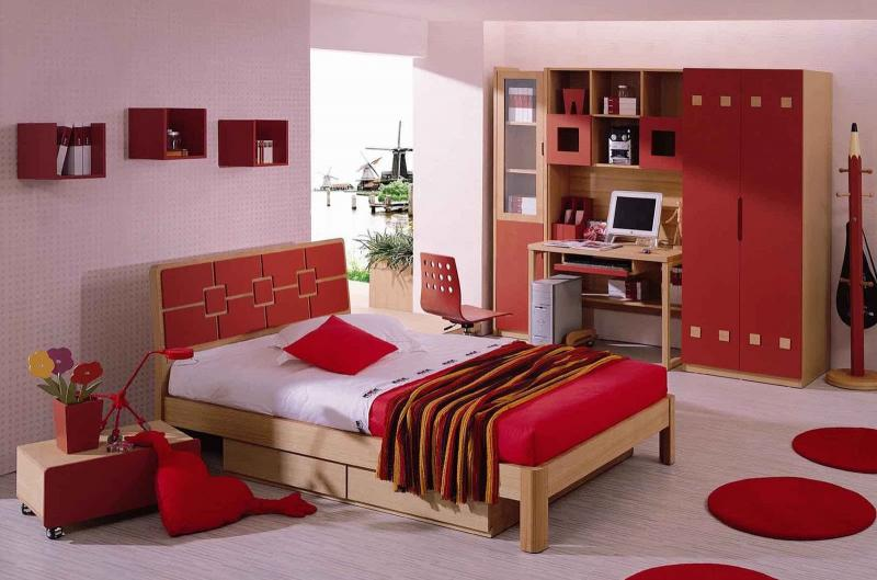 Яркая спальня 2