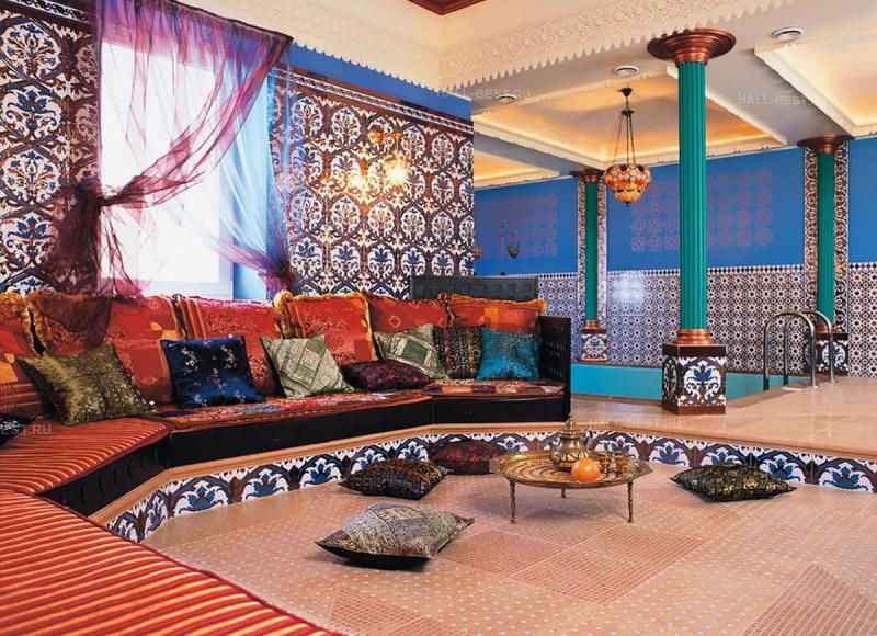 Гостиная в этническом стиле 2