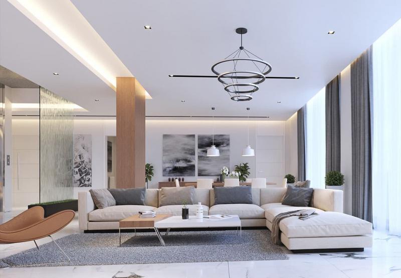 Гостиная в современном стиле 2