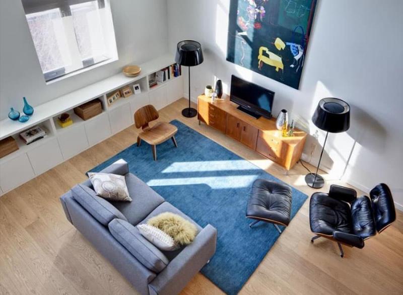 Гостиная в стиле средиземноморский минимализм 4