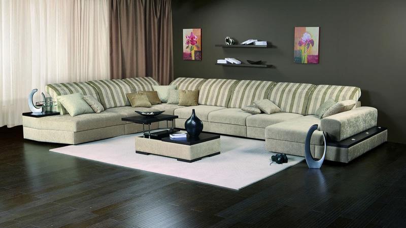 Мягкая мебель с узорами 5
