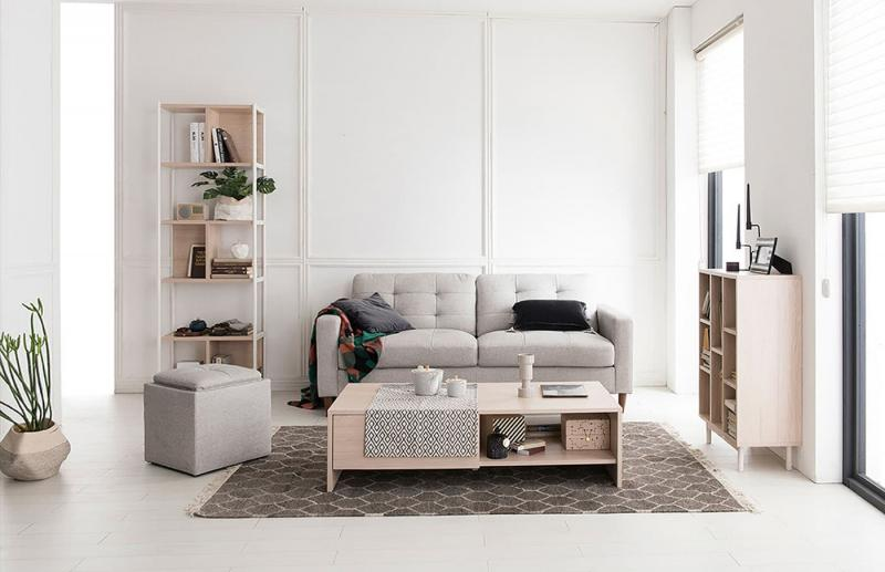 Небольшие диваны в интерьер гостиной 10