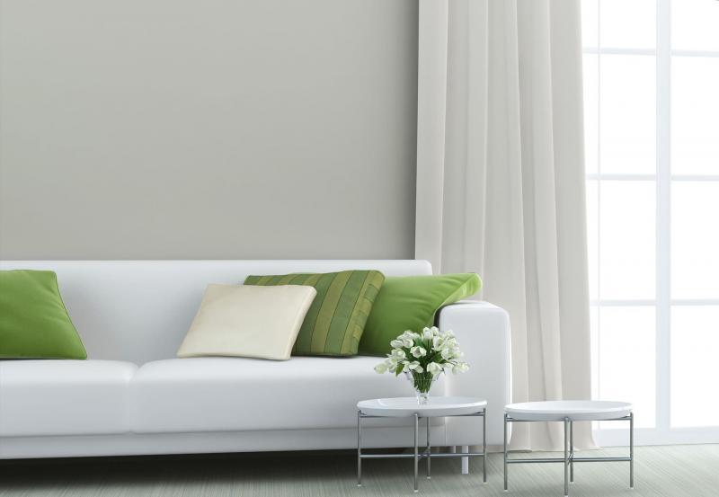 Оттенок Greenery в дизайне гостиной - фото 4