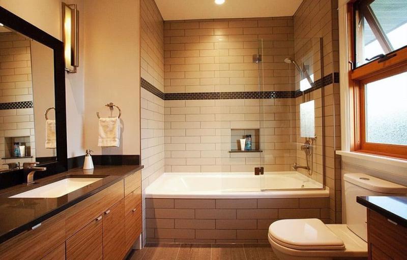 Дизайн ванной 6-7 кв.м 8